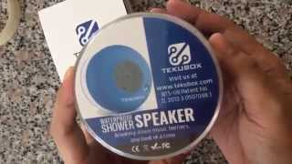 UNBOXING: Tekubox Handsfree Waterproof Wireless Speaker (For Indoor & Outdoor Use)