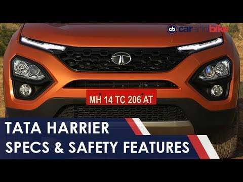 Tata Harrier: Specs, Dimensions & Safety Features | NDTV Carandbike