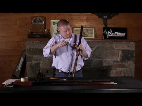 Traditions Firearms - How to Disassemble Your Traditions Percussion Sidelock Muzzleloader
