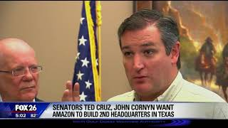 Sen. Cruz on KRIV - October 11, 2017