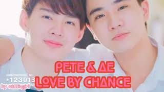 ☆*:.。.PETE & AE | CAN'T STOP LOVE.。.:*☆