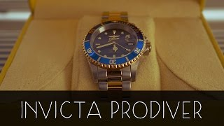 Invicta Men's 8928OB Pro Diver 23k Gold Plated Watch || UNBOXING!!