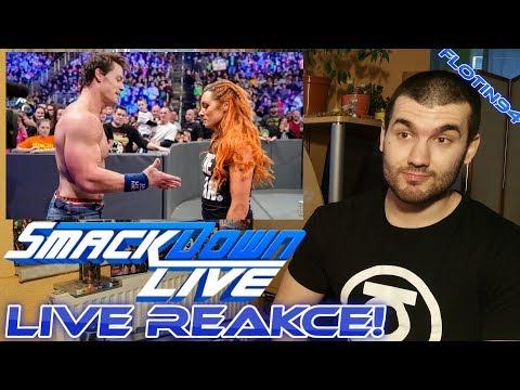 Becky Lynch & John Cena SD LIVE 01/01/19 LIVE REACTION