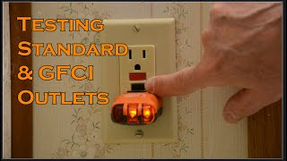 Testing Standard & GFCI Outlets