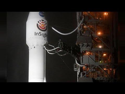 العرب اليوم - شاهد: اقتراب أول مسبار آلي لدراسة المريخ في ختام رحلة مدتها ستة أشهر
