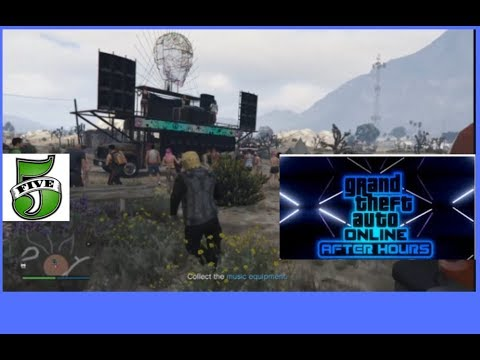 GTA V After Hours DLC  Steal Equipment Mission