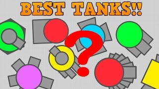 TOP 3 BEST DIEP.IO TANKS!! // Most Overpowered Builds // (Diepio)