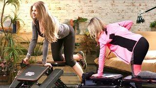 Damit brauch Diana nicht mehr ins Fitness! Mit Katie Steiner bei PEARL TV (Januar 2019) 4K UHD