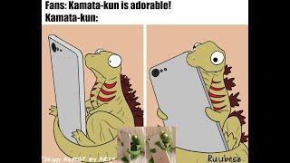 Godzilla KOTM | Shin Godzilla And Kamata-Kuns MEME Attack! (Godzilla Comic Dub) (Godzilla MEME)