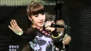 2NE1 - Fire @ SBS Inkigayo 인기가요 090517