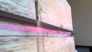 Heating element for bending plastic