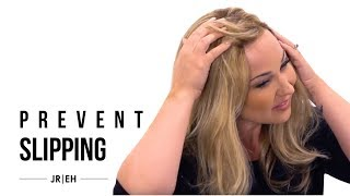 HOW-TO: Prevent my wig from slipping back