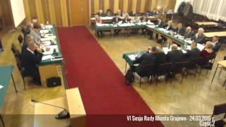 preview picture of video 'VI Sesja Rady Miasta Grajewo - 24.03.2015 r. Część 2'
