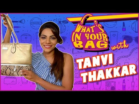 Tanvi Thakkar aka Bindiya | What's In Your Bag | T