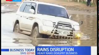 Business disrupted in Maralal over poor roads