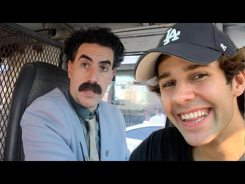 SURPRISING BEST FRIEND WITH BORAT!!