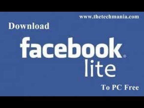 download fb lite sur PC