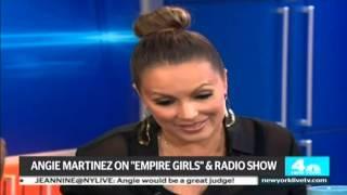 Angie Martinez on New York Live