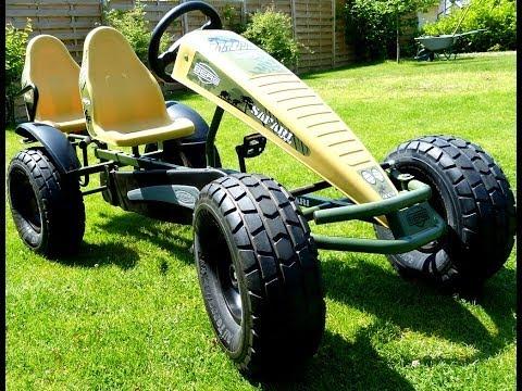 BERGTOYS Berg Safari Pedal Gokart (full-HD) awesome, amazing & impressing