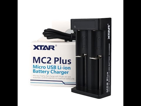 YouTube Video zu Xtar MC2 Plus 2-Schacht USB Ladegerät