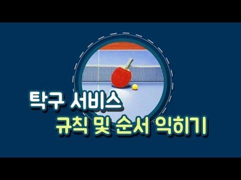 재택수업 - 2학년 <탁구 1 >  재택수업 기간 6.10~6.16 영상자료 ①