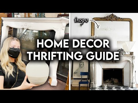 HOME DECOR ON A BUDGET | THRIFT WITH ME + HAUL
