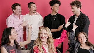 """The Cast Of """"The Society"""" Plays Who's Who"""