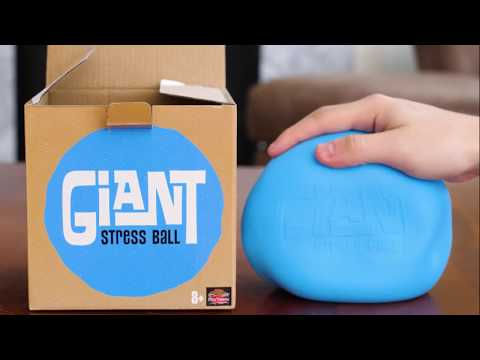 Youtube Video for Giant Stress Ball - Work It Out!