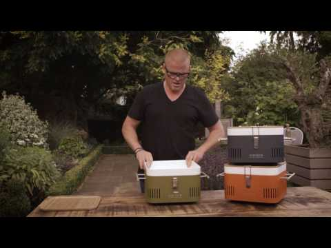 CUBE Portable Charcoal Barbeque – Everdure by Heston Blumenthal Available At The Good Guys
