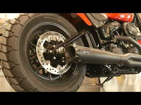 2020 Harley-Davidson Fat Bob® 114 in Coralville, Iowa - Video 1