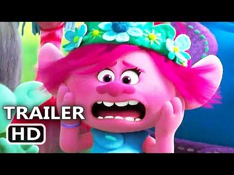 TROLLS 2 Trailer # 2 (NEW 2020) Trolls World Tour, Animation Movie HD