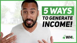 5 Ways to Generate Different Sources of Income (make more money 💵)