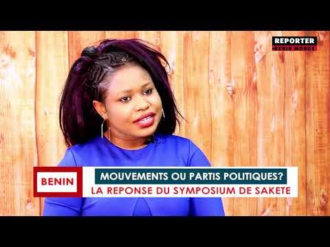 REPORTER BÉNIN MONDE : MOUVEMENTS ET PARTIS POLITIQUES REPORTER BÉNIN MONDE : MOUVEMENTS ET PARTIS POLITIQUES