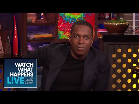 Leslie Odom Jr. On Johnny Depp's Eccentricity | WWHL