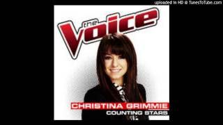 Counting Stars Christina Grimmie - The voice (studio version)