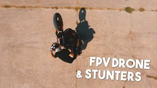 FPV Drone & Stunters (feat Holy Kidd & Absolut Rider) (4K)