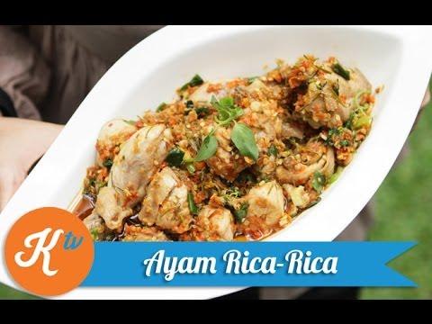 Video Resep Ayam Rica-Rica (Manadonese Spicy Chicken Recipe Video) | MELATI PUTRI