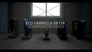 ECO Umbrella Dryer Comparison Video