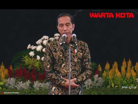 Meriahnya Acara Perpisahan Wapres dan Menteri Kabinet Kerja di Istana