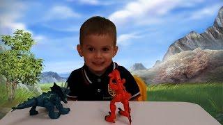 Игрушки Hasbro - Велоцираптор / разборные Динозавры / Hero Mashers