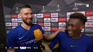 """""""He's so humble!"""" Olivier Giroud speaks about Chelsea star Callum Hudson-Odoi"""