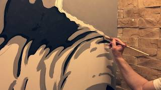Роспись стен, интерьеров, потолков и портреты, картины маслом на заказ | Арт студия Bueno Arte