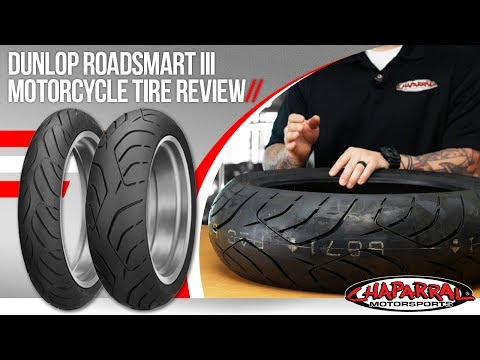 Dunlop Roadsmart III Motorcycle Tire Review