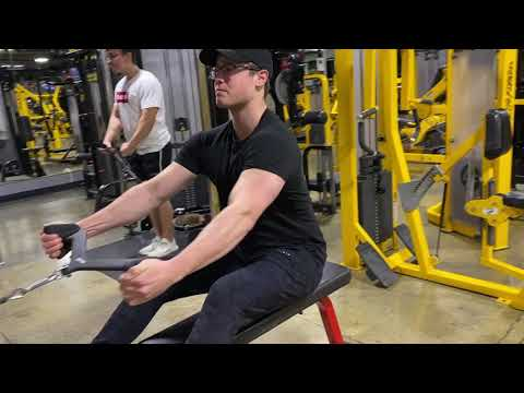 Neutral Grip Seated Cable Row (MAG Attachment)