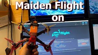Maiden Flight on EMUFlight (4K)