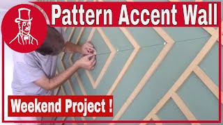 How To Make An Accent Wall - Pattern