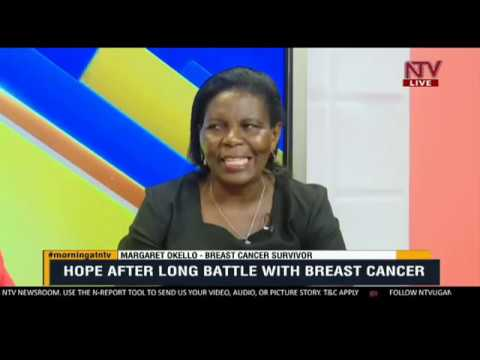 Margaret Okello finds hope after a long battle with breast cancer