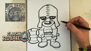 Cómo Dibujar Carta Del Verdugo Clash Royale 123vid