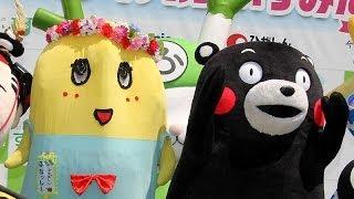 【東京】ご当地キャラフェスでいろんなキャラが入り乱れる!