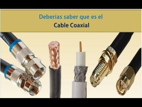 Deberías de conocer➡️Que es el Cable coaxial❓ o Coaxial cable ❓Descubrelo Ya❗